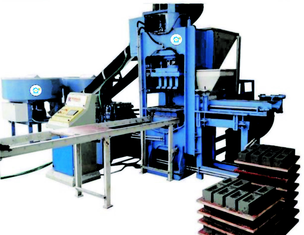 Automatic Fly Ash Brick/Block/Paver Making Machine