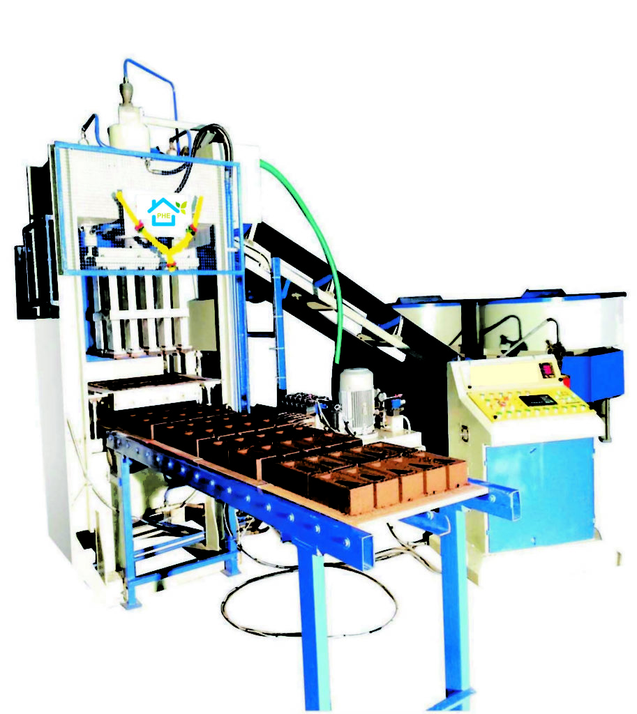 Automatic Fly Ash Brick/Block/Paver Making Machine 1